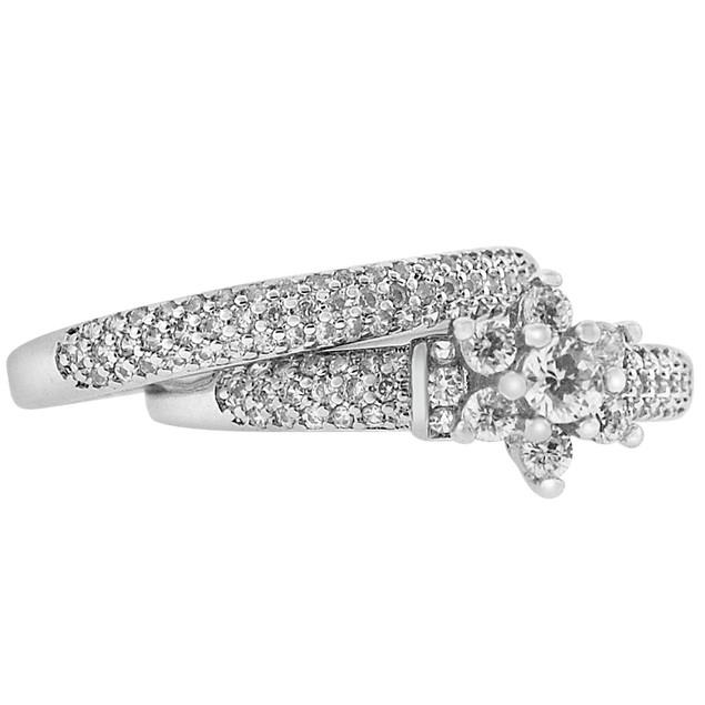 2-Piece Set: Cubic Zirconia Rings - Alise Ring