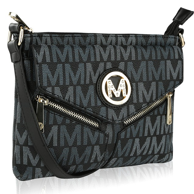 MKF Collection Nathy Milan M Signature Cross-body by Mia K