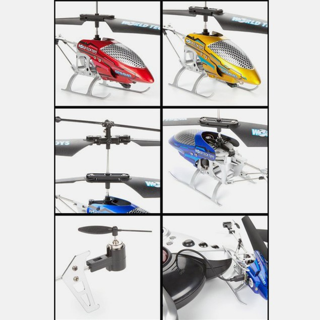 Gamma 3.5CH Metal RC Helicopter