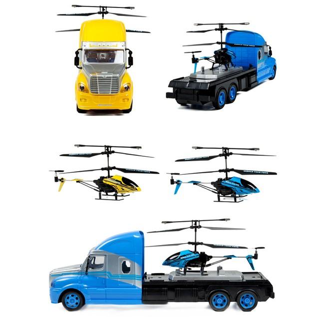 3.5ch Mega Hauler Helicopter & Truck Combo