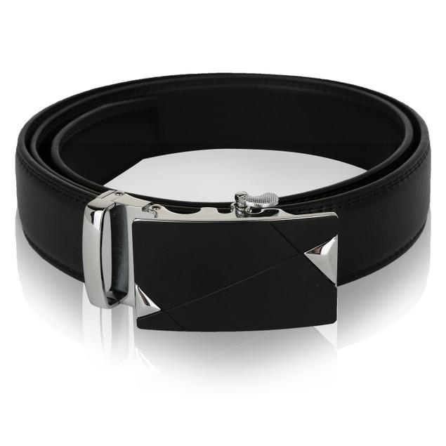 MKF Collection Mitch Genuine Leather Belt by Mia K.