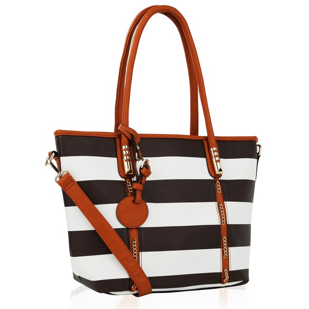MKF Collection Marina Striped Tote
