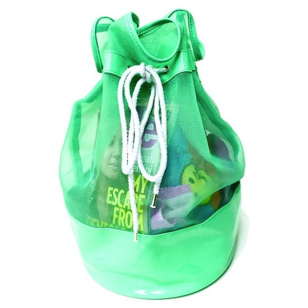 Sugar Lulu Drawstring Duffle Beach Bag - 2 Colors