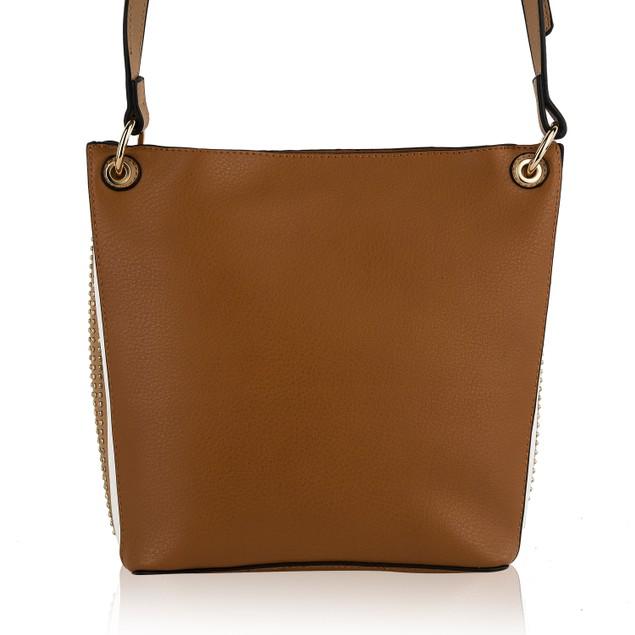 MKF Collection Wendel Crossbody Bucket Bag by Mia K.