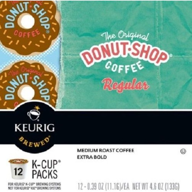 Donut Shop Coffee The Original Regular Keurig K Cup