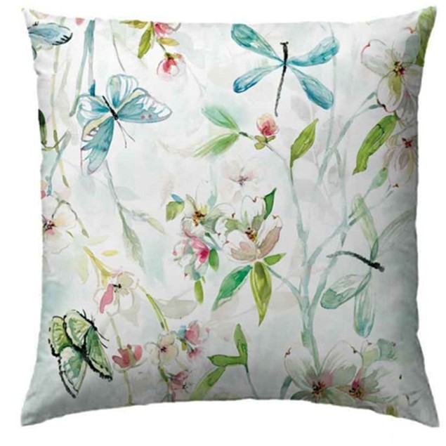 """Laura Hill 20""""X30"""" Spring-Printed Decorative Pillows"""
