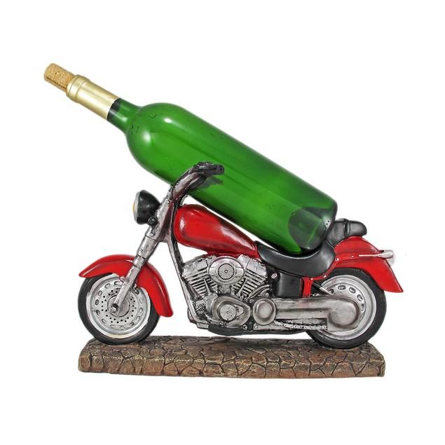 Easy Rider V-Twin Motorcycle Wine Bottle Holder Wine Bottle Holders