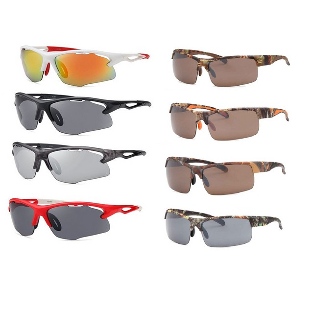 4-Pack Men's Sports Sunglasses- 2 Styles Available