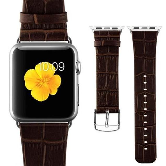 iPM Crocodile Leather Band for Apple Watch