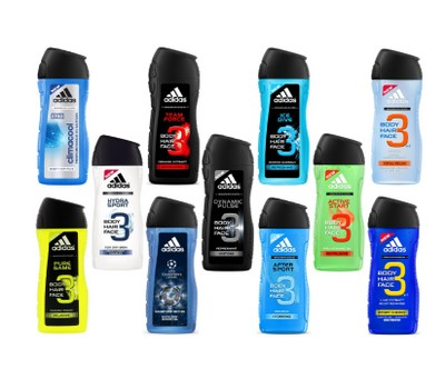 6-Pack Assorted Adidas Shower Gel For Men 13.5oz / 400ml Was: $69.99 Now: $26.99.