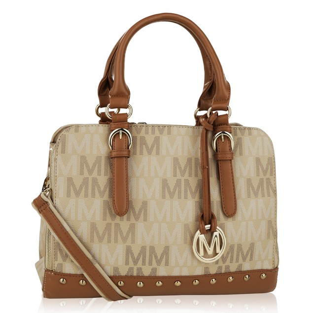 MKF Collection Fancy Marie M Signature Tote by Mia K.