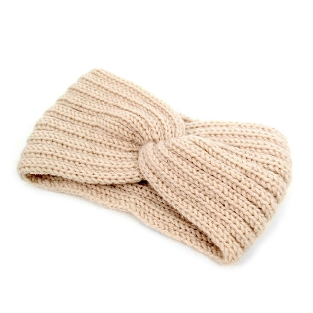 2-Pack Women's Knit Winter Twisted Headband Ear Warmer
