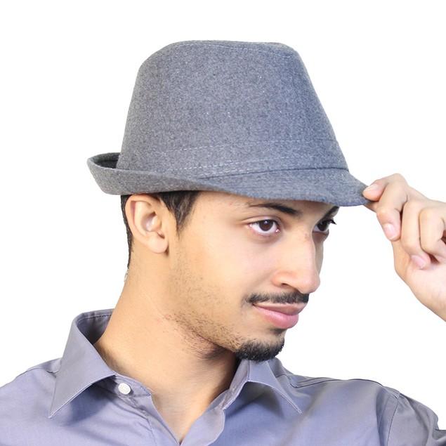 5-Pack: Men's Classic Fedora Hats