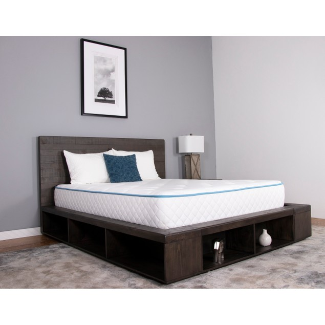 "Dreamfoam Bedding - Slumber Essentials Haven 8"" Cooling Gel Mattress"
