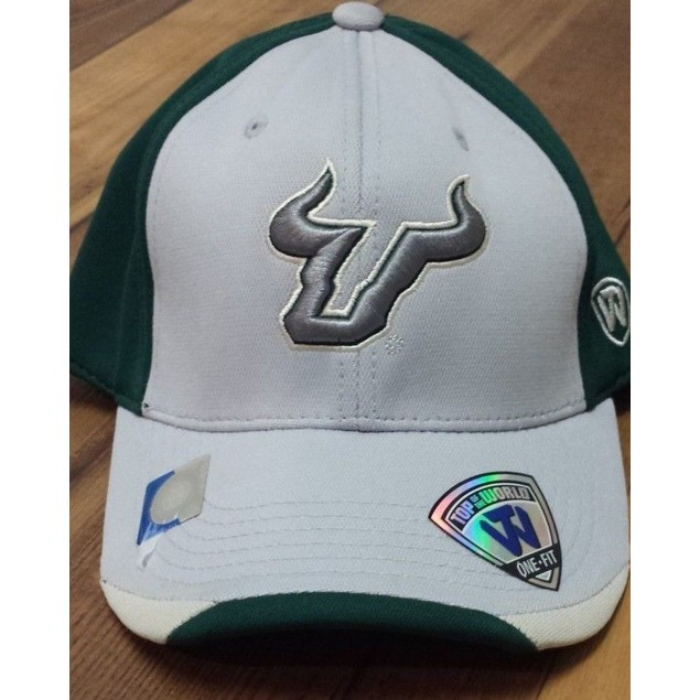 """South Florida Bulls NCAA TOW """"Grizzly"""" Stretch Fitted Hat"""