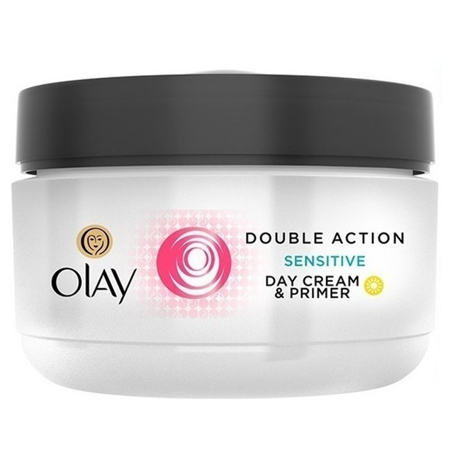 Olay Double Action Sensitive Day Cream & Primer 50 ml (1.7 Oz)