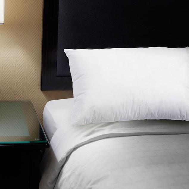 Lavish Home 100% Cotton Feather Down Pillow
