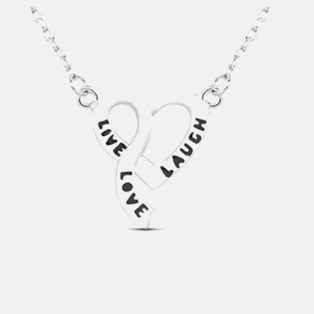 Live Love Laugh Pendant