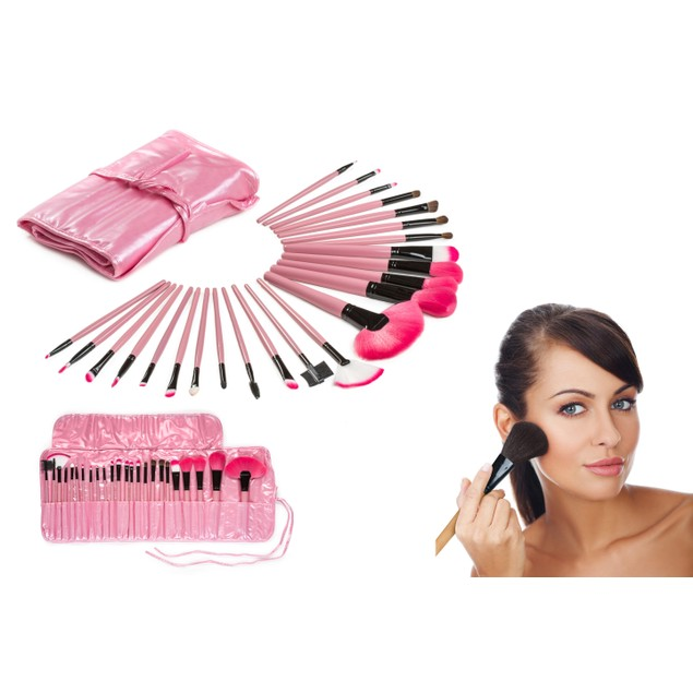 Makeup Brush Set (24 Pieces)
