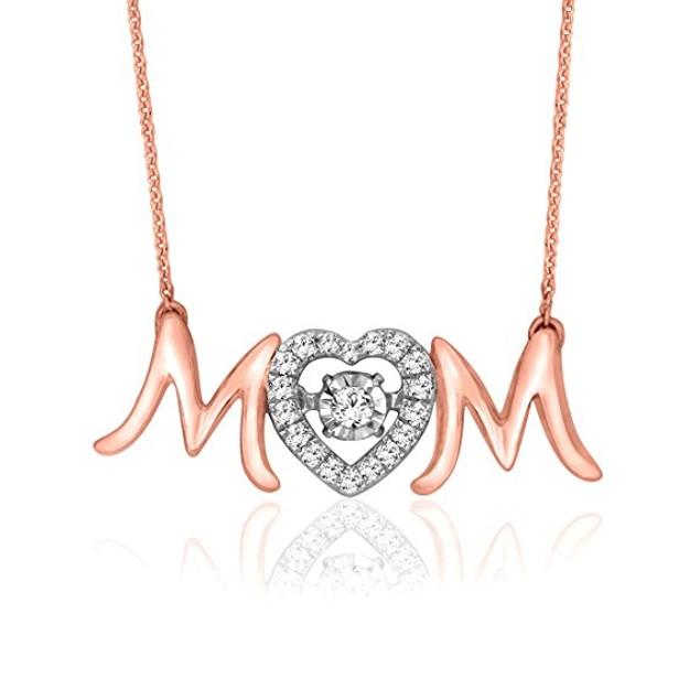 Mom Rose Gold Necklace