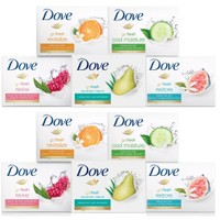 Deals on 15-Pack Dove Bar Soap Variety Bundle
