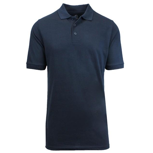 Harvic Men's Premium Quality Pique Polos M-XXL