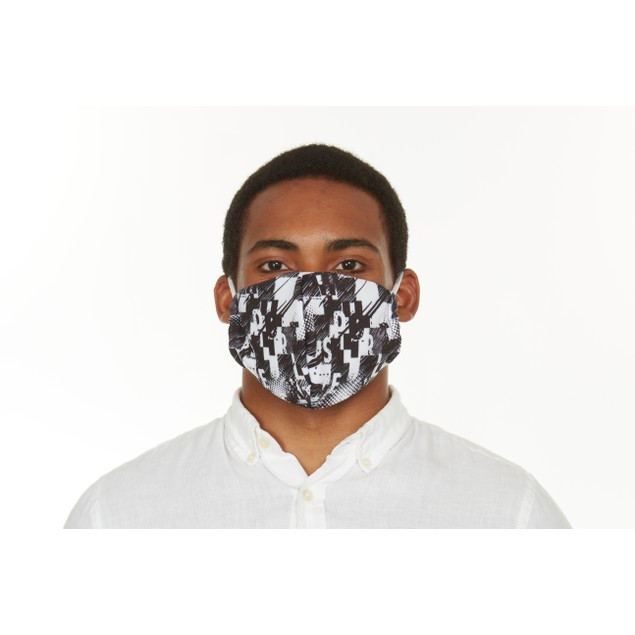 Mystery 6-Pack: Men's Reusable Machine Washable Masks (3 Solid + 3 Prints)