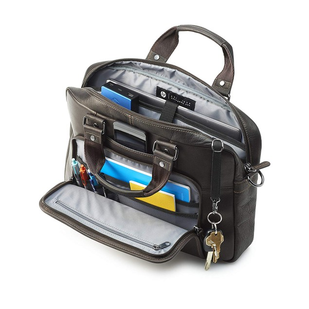 """HP Elite Colombian Leather Case for 14"""" Laptop Computers"""