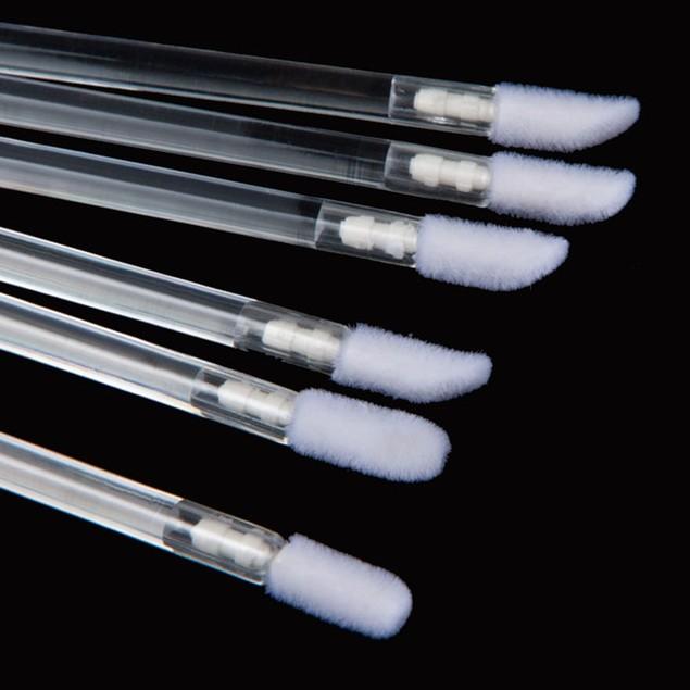 50-Pack Disposable Make-Up Lip Brush Lipstick Make Up Tool