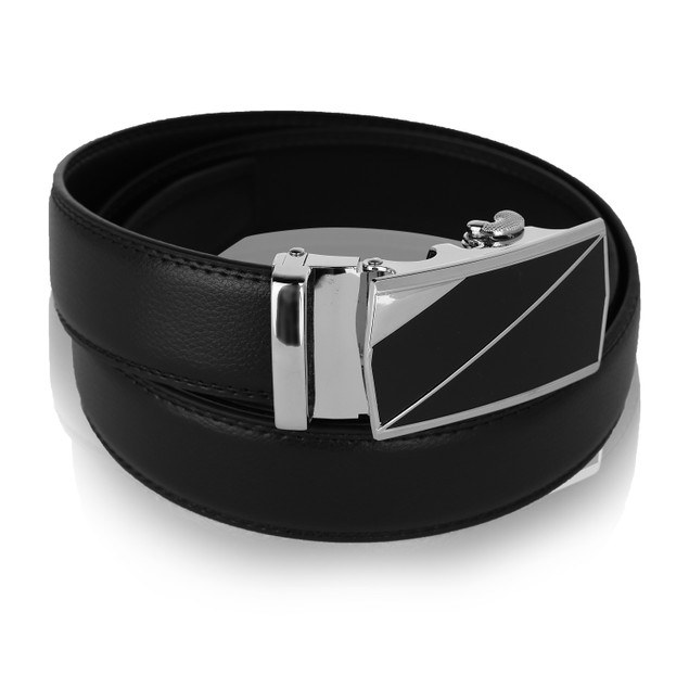 MKF Collection Leonard Genuine Leather Belt by Mia K.