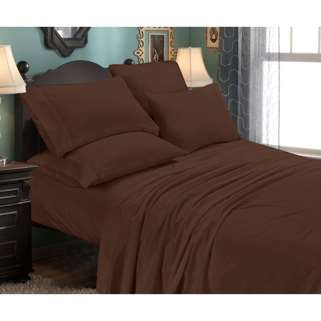 6-Piece Set: Egyptian Comfort 1600 Series Double-Brushed Sheets