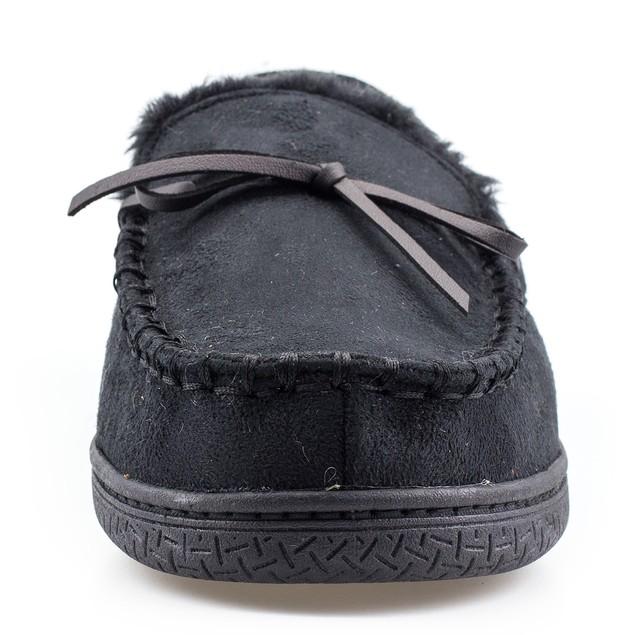Men's Memory Foam Durable Comfortable Slip On Moccasin Slippers