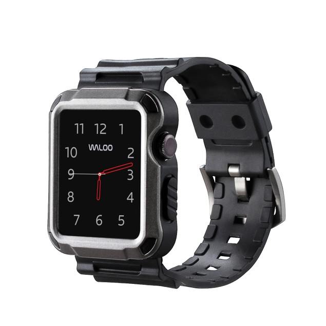 Waloo Tough Armor Apple Watch Strap and Case Series 1, 2, 3, & 4