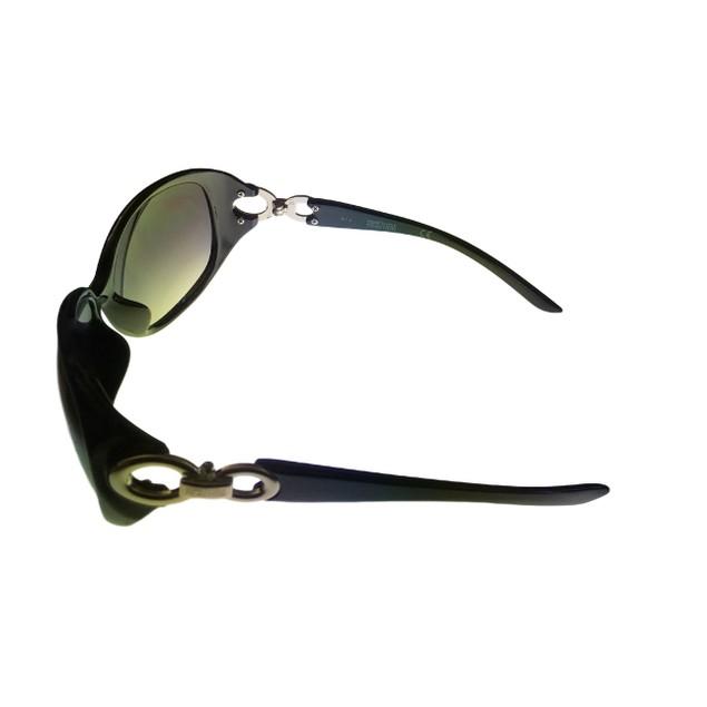 Kenneth Cole Reaction Womens Plastic Sunglass Black Rectangle,  KC1169 1A