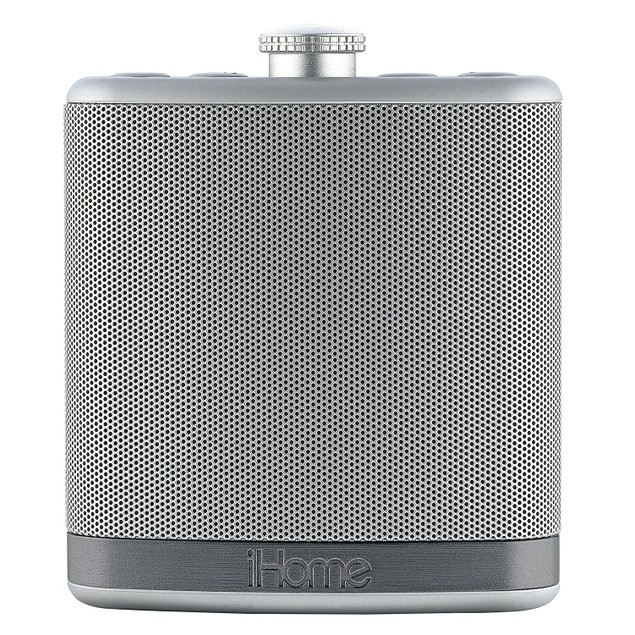 iHome Rechargeable Flask Shaped Bluetooth Stereo Speaker