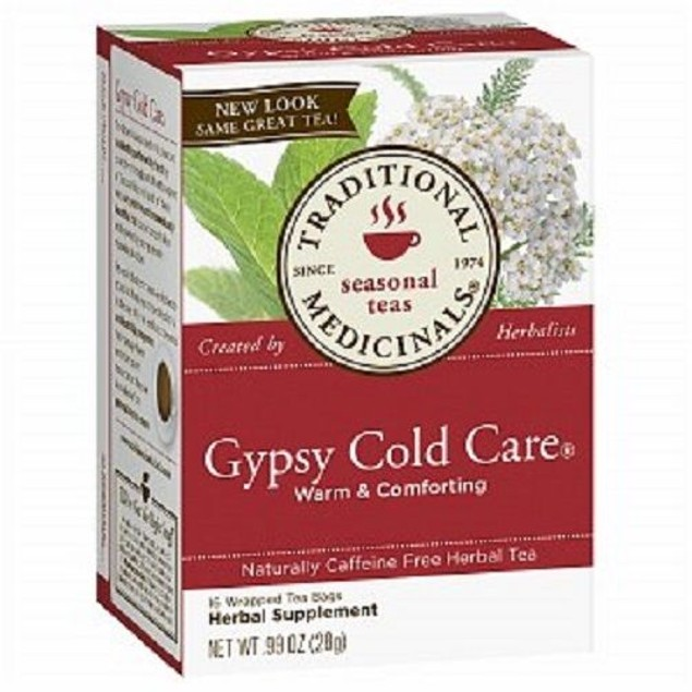Traditional Medicinals Tea Gypsy Cold Care