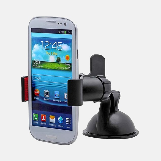 Aduro GRIP CLIP Universal Dashboard/Windshield Car Mount for Smartphones