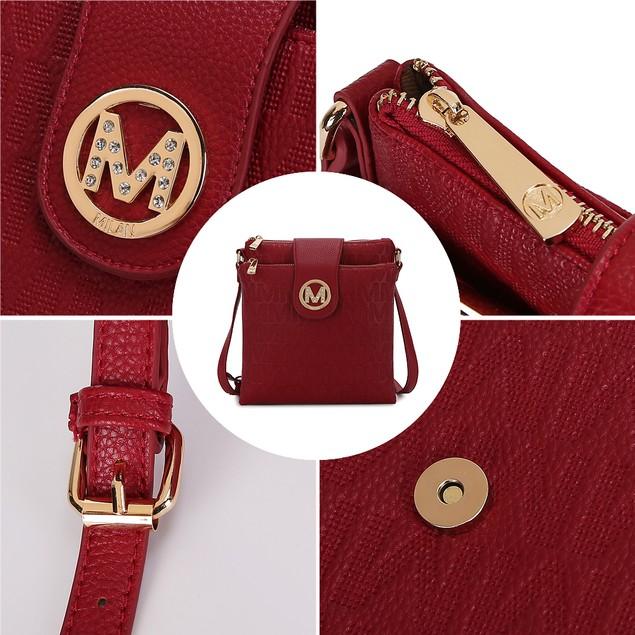 MKF Collection Marietta M Signature Crossbody Bag by Mia K. Farrow