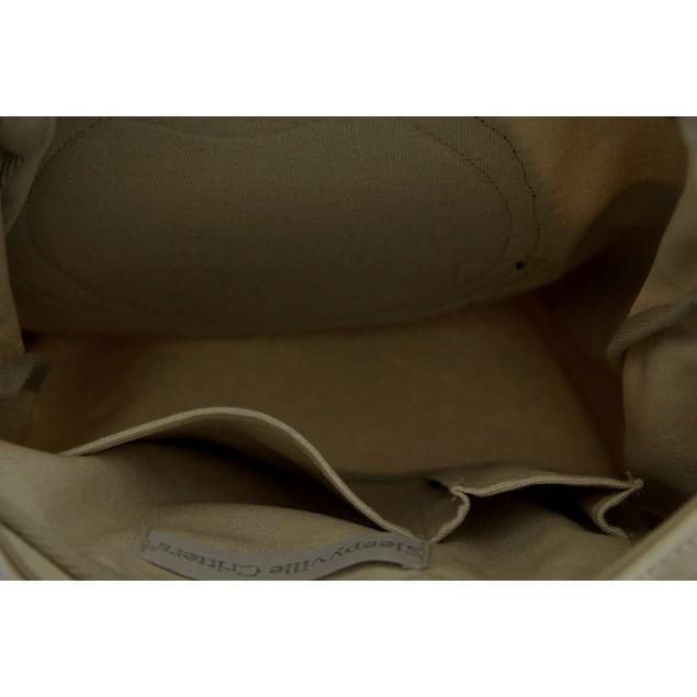 Sleepyville Critters Peeking Hedgehog Canvas Cross Womens Cross Body Bags