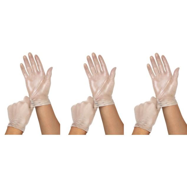 Disposable Vinyl Gloves Powder- 200 & 300 ct