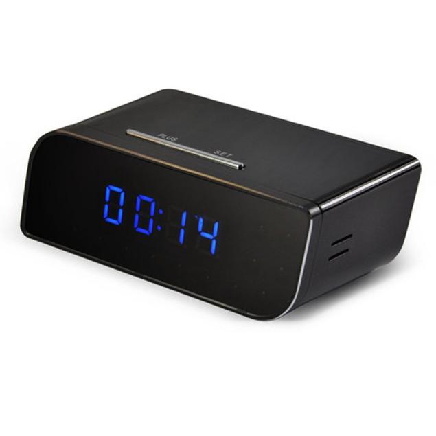 iPM 720P Battery Powered Desk Clock - with WiFi & Hidden Camera