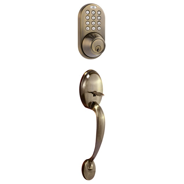 MiLocks Keyless Entry Keypad Deadbolt and Handleset Combo Door Lock