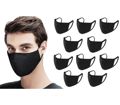 10-Pack Reusable and Washable Cotton Breathable Face Mask Was: $78 Now: $22.99.