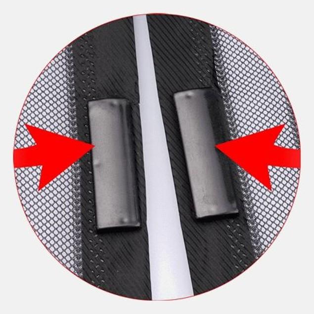 Auto Open and Close Magnetic Screen Door