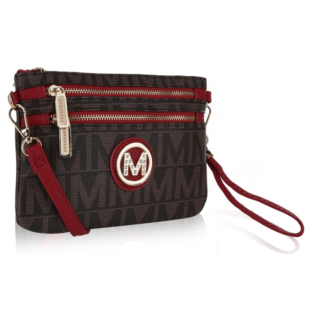 MKF Collection M Signature Crossbody & Wristlet by Mia K. Farrow