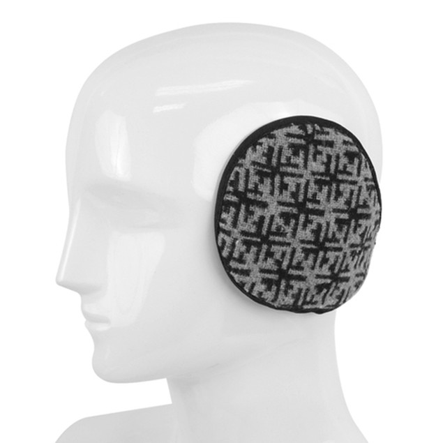 Snowflake Pattern Ear Warmers