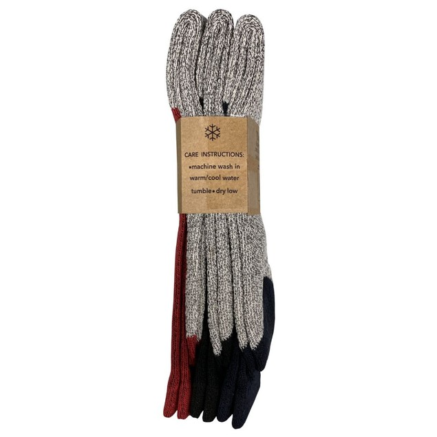 9-Pack Assorted Unisex Thermal Insulated Heat Retaining Winter Socks