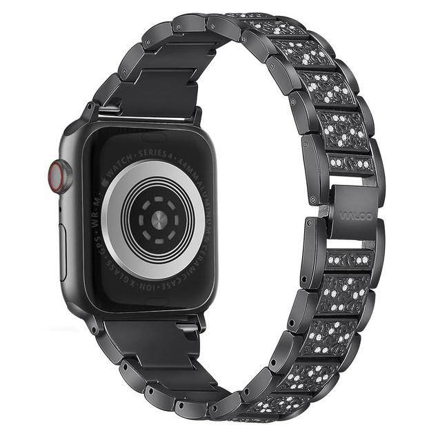 Waloo Rhinestone Pattern Band for Apple Watch Series 1, 2, 3, 4, & 5