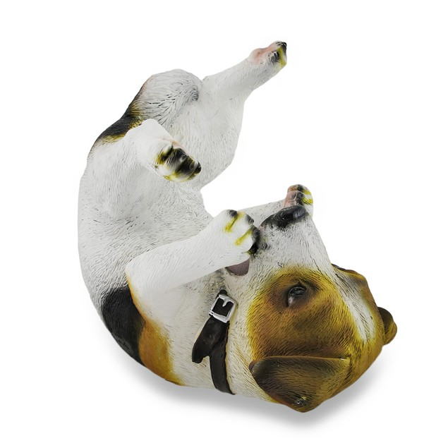 Jack Russell Terrier Wine Holder Bottle Display Tabletop Wine Racks