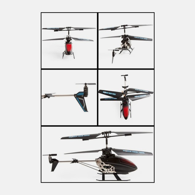 3.5 Ch Gyro Sky Messenger Writing IR Helicopter